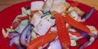 Cabbage Eggplant Salad