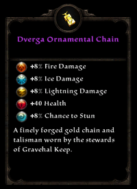 Dverga ornamental chain