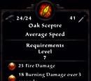Oak Sceptre