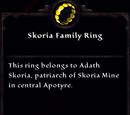 Skoria Family Ring