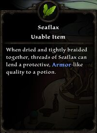 Seaflax
