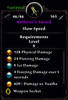 Kelleracs sword true stats