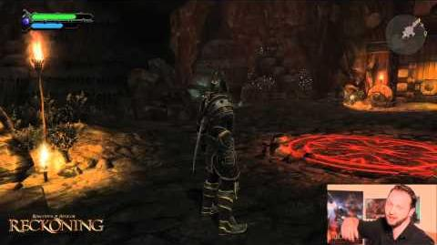 Kingdom of Amalur Reckoning - Brigand Hall Cavern demo walktrhough