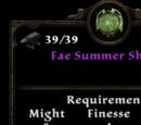 Fae Summer Shield