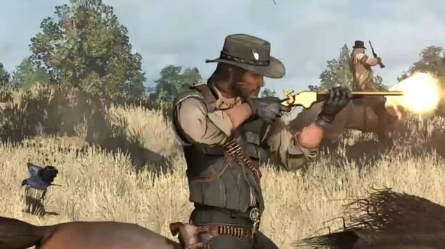 File:John & Golden Gun.JPG