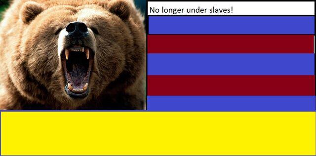 File:Gang flag. In bears we trust.jpg