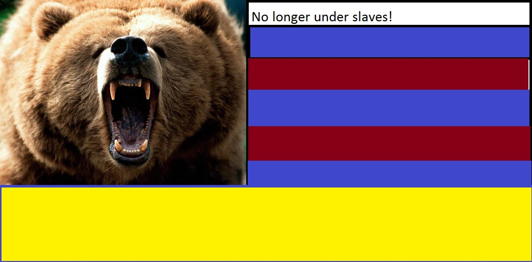 Gang flag. In bears we trust