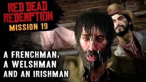 Red Dead Redemption - Mission 19 - A Frenchman, a Welshman and an Irishman (Xbox One)