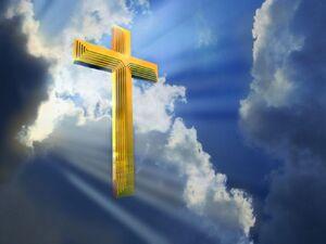 Cross in heavenly 1024x768