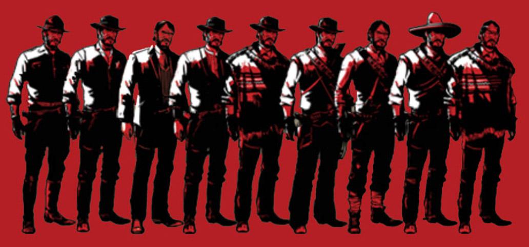 Bandana Red Dead Online