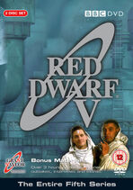 Red Dwarf V UK DVD Cover