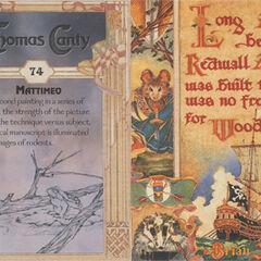 Thomas Canty Trading Cards #74 - Mattimeo