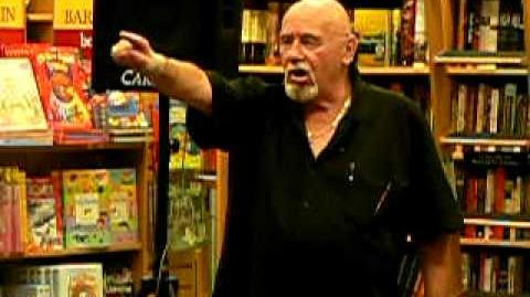 Brian Jacques at Boarders