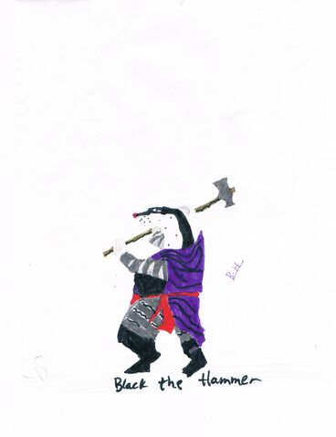 File:Black the Hammer Badger picture.jpg