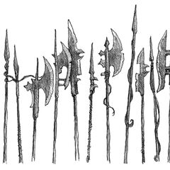 Weaponry from <i>The Sable Quean</i>