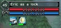 HUD Basic Character Info