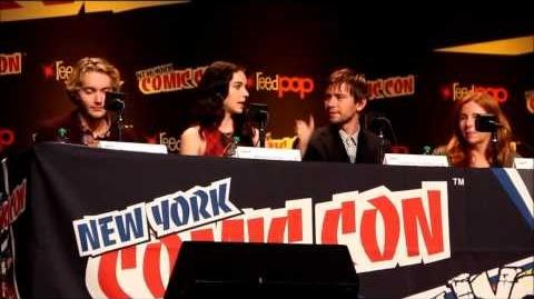 The CW's Reign Panel at New York Comic Con Part 2