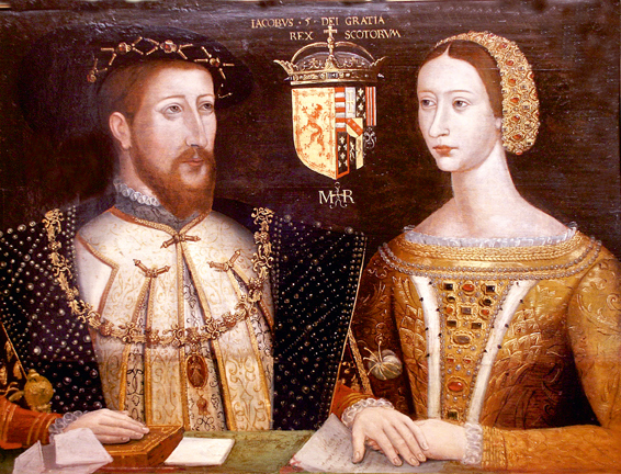 File:King James V & Marie de Guise.jpg
