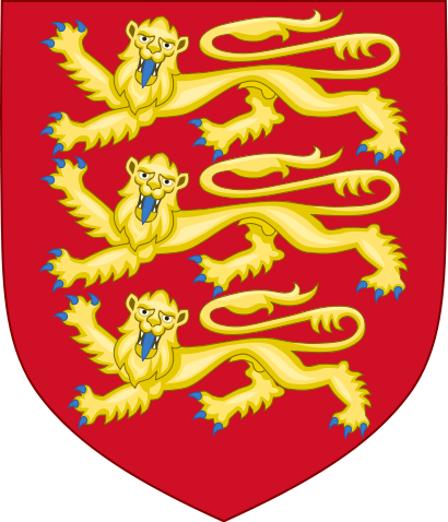 File:410px-Royal Arms of England (1198-1340) svg.png