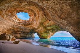File:500px-Benagil Cave, Algarve.jpg