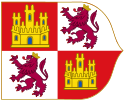 File:Royal Banner of the Crown of Castile (Early Style)-Variant svg.png