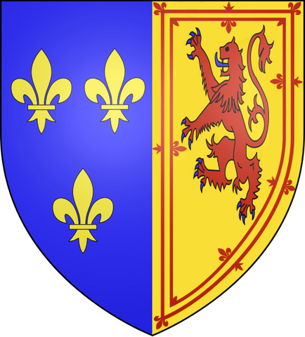 File:Coat of Arms of Mary, Queen of Scotland.PNG