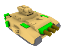 G5K10A Scarab Supertank Unskinned