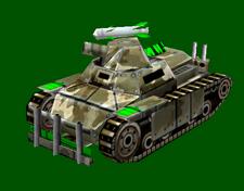 GLRF Mortar Scorpion Tank