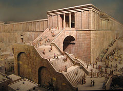 240px-Reconstruction model of Ancient Jerusalem in Museum of David Castle