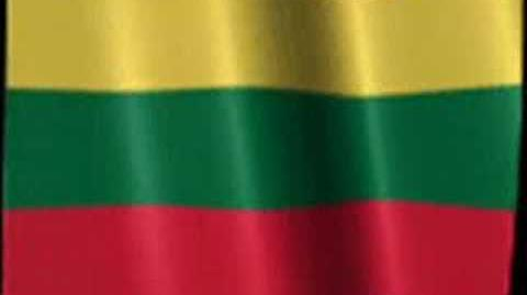 Anthem Lithuania