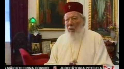 Patriarhul Teoctist la ultima sa aniversare-7 feb