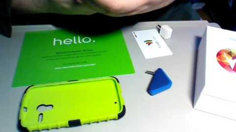 Republic Wireless Moto X. Credit card readers tested.