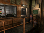 Resident Evil 3 background - Uptown - warehouse m - R10106