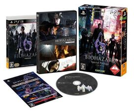 Biohazard 6 Special Package PS3
