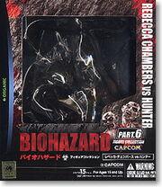 Biohazard Figure Collection - Rebecca Chambers vs. Hunter - box