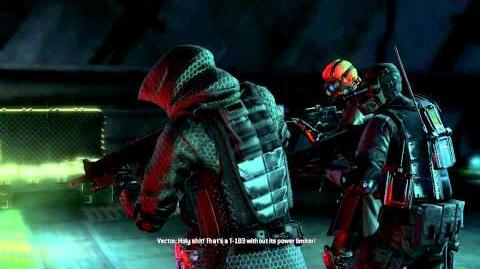Resident Evil Operation Raccoon City all cutscenes - Super Tyrant (Vector)