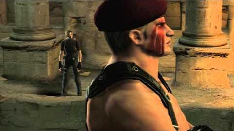Resident Evil 4 all cutscenes - Chapter 5-3 scene 4