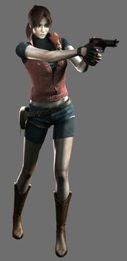 Resident Evil The Darkside Chronicles - Memories of a Lost City - Claire Redfield render