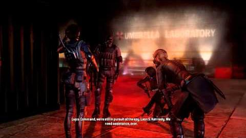 Resident Evil Operation Raccoon City all cutscenes - Sharp Claws (Spectre and Lupo)