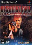 Resident Evil Dead Aim - US front cover