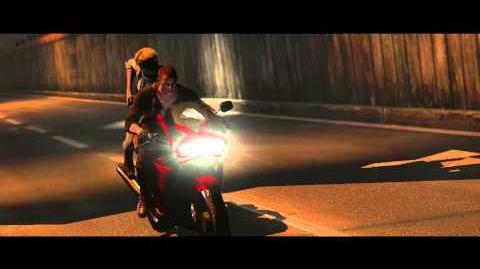 Resident Evil 6 all cutscenes - Speeding Bike