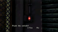 Resident Evil CODE Veronica - square in front of the guillotine - examines 03-2
