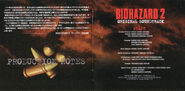 Biohazard 2OST booklet page 5 & 6