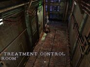Treatment control room locked