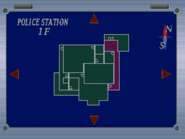 RE15 Map Layout 1F East Hallway