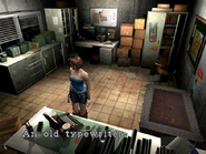 Resident Evil 3 Nemesis screenshot - Uptown - Warehouse office examine 05