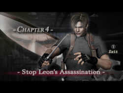Stop leon assasination (re4 danskyl7)