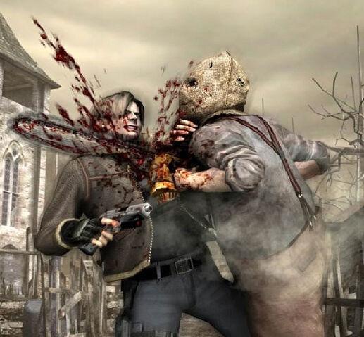 File:Leon vs Chainsaw Man.jpg