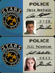 File:Resident Evil (PlayStation) - Chris Redfield and Jill Valentine STARS badges.png