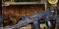 Machine Pistol w/Stock (WE-038)
